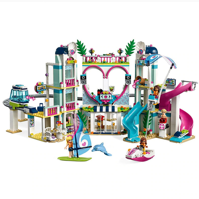 Lepin-01068-Girls-Toys-The-Legoingly-41347-Heartlake-City-Resort-Set-Building-Blocks-Bricks-New-Kids