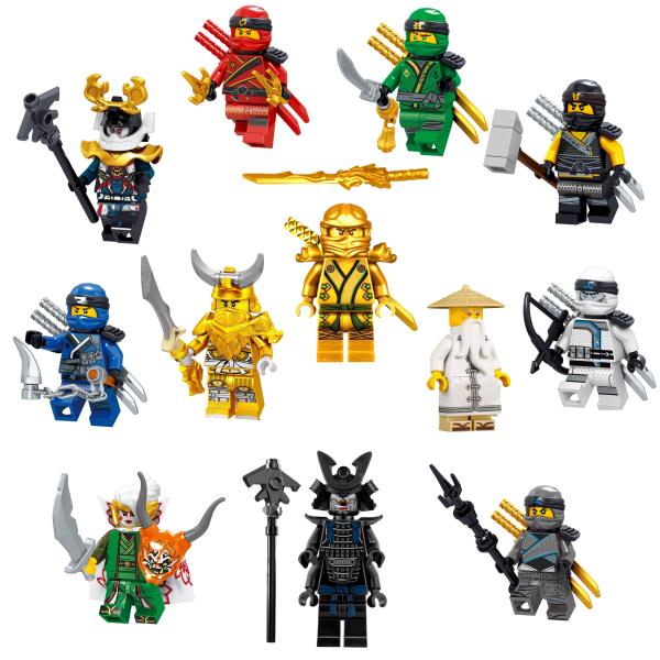 Ultimate Ninjago Minifigure Set