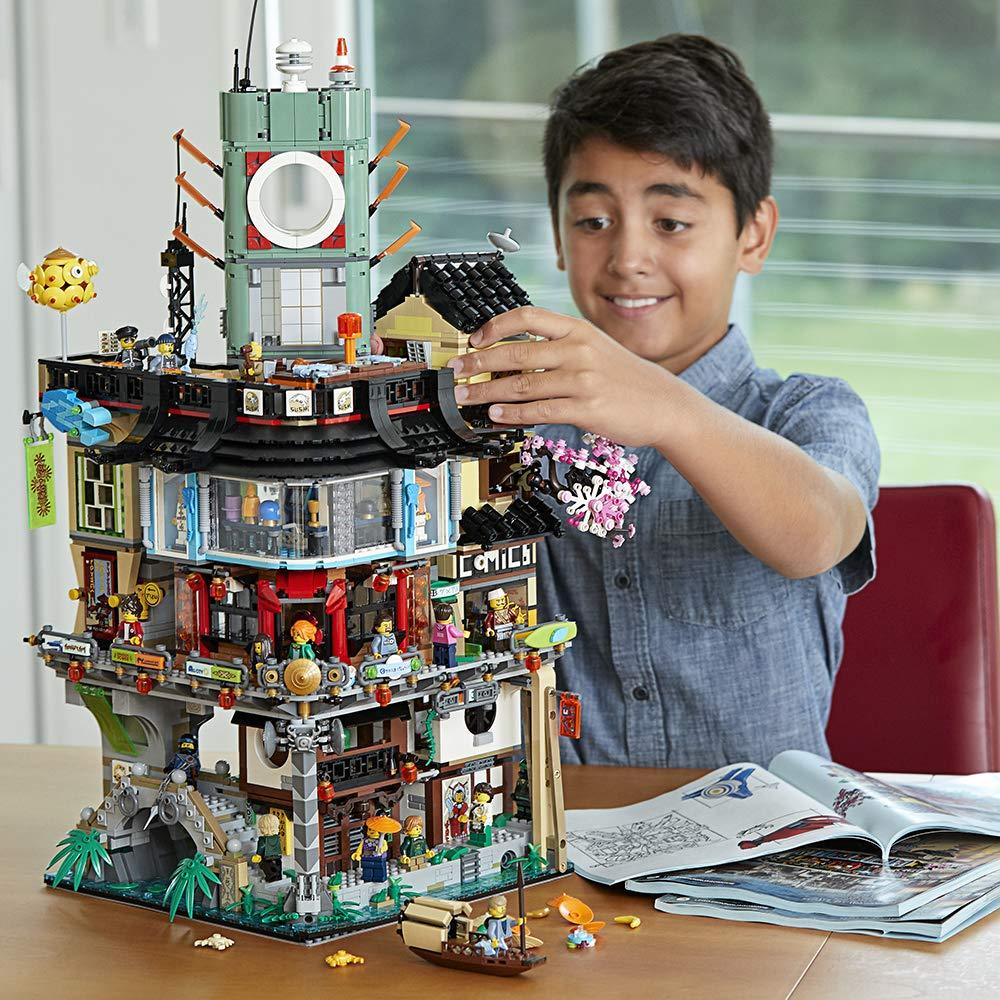 LEGO® Ninjago® Ninjago City 70620 (4867 Pieces) - Shimada ...