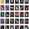 MLB Vinyl Decals