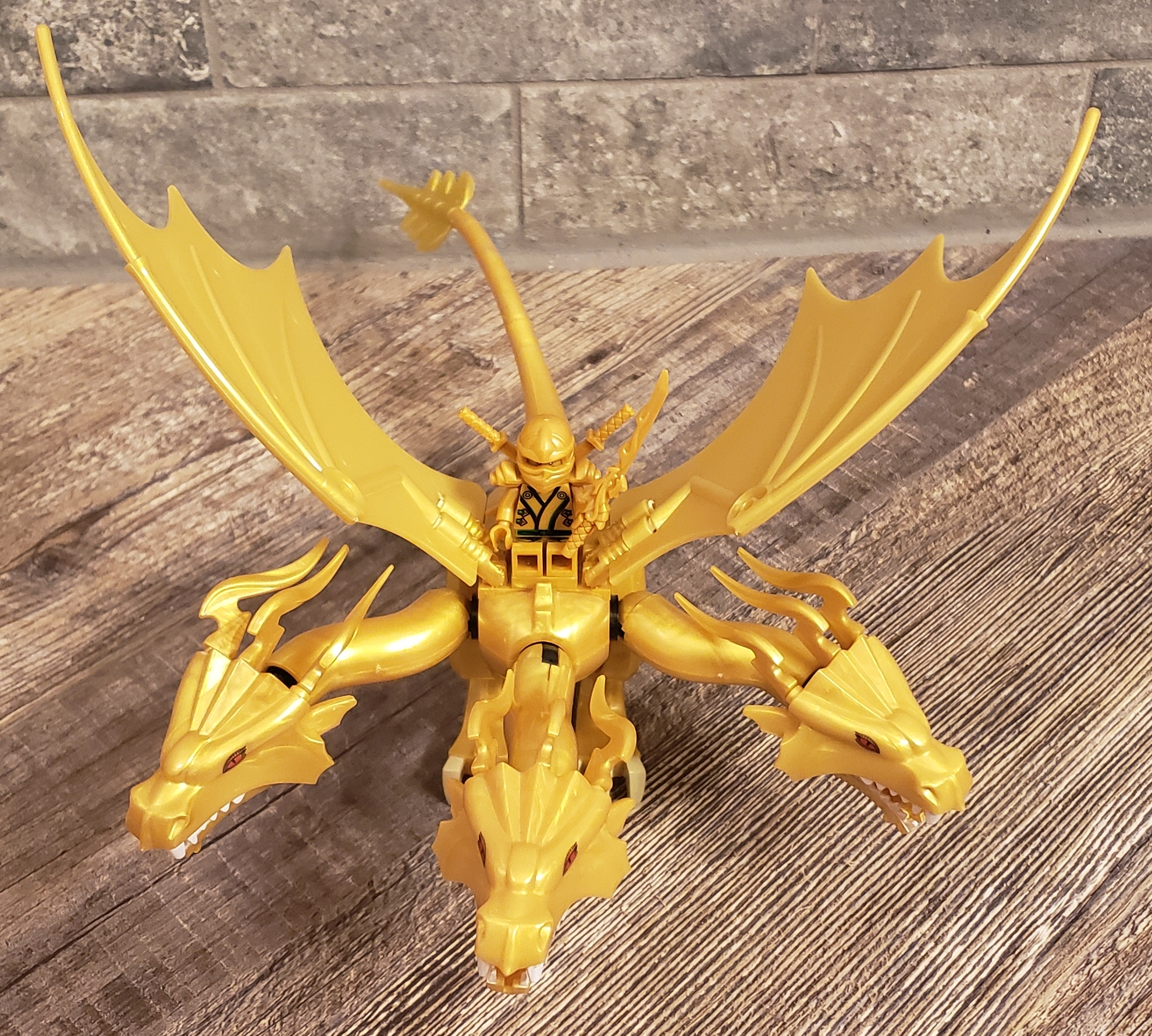 """Golden Dragon Lego Compatible Set with the """"The Final ..."""